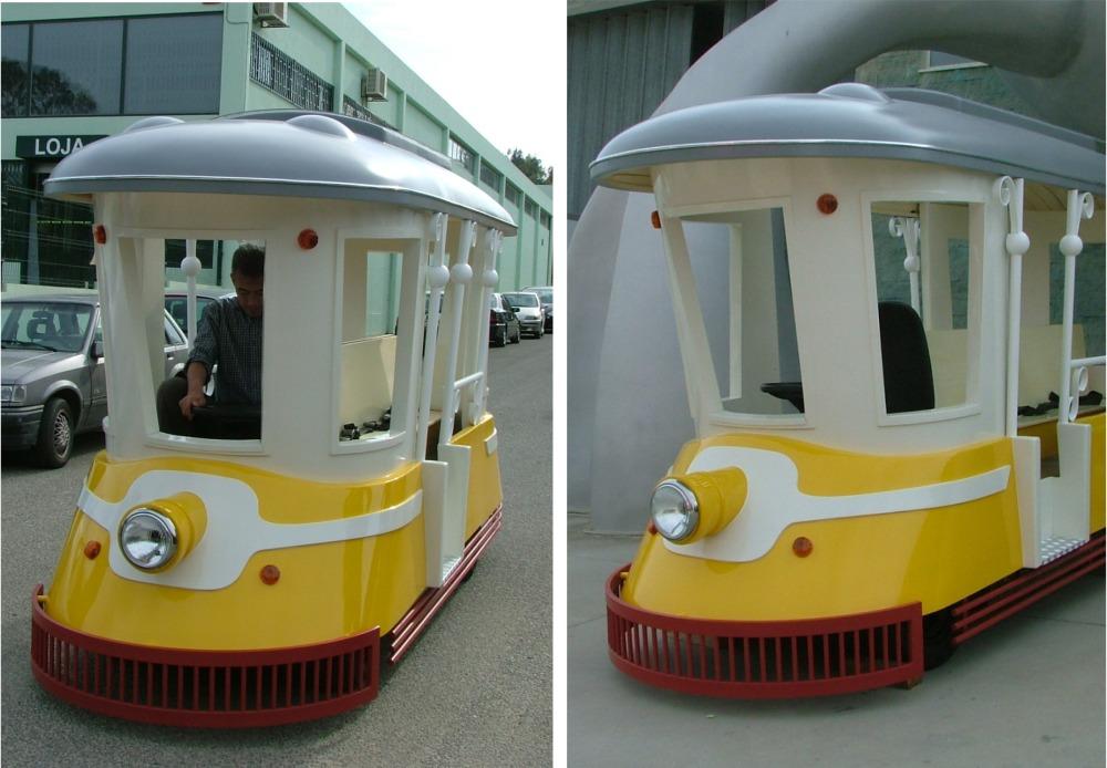 аттракцион паровозик, london bus