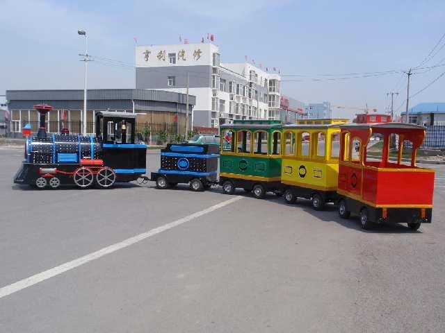 безрельсовый поезд, поезд аттракцион, london bus