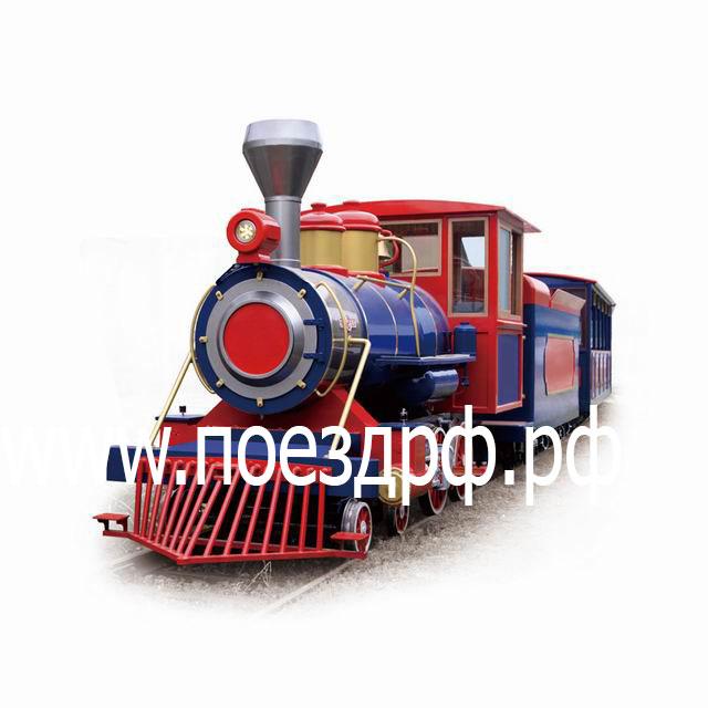 поезд на рельсах, рельсы для поезда, поезд для парка