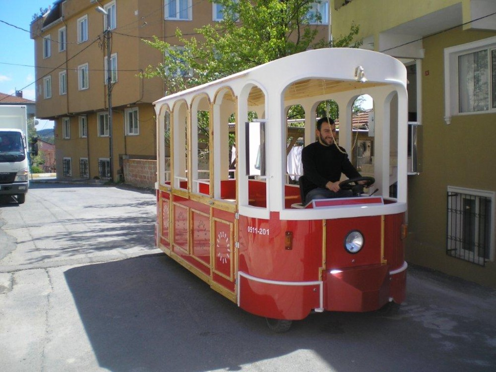 паровозик аттракцион, london bus