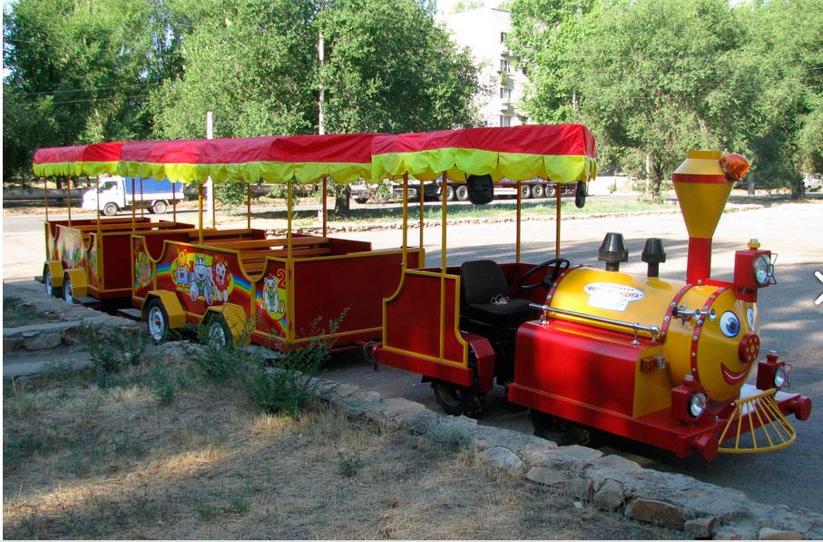 аттракцион паровозик, дизельны