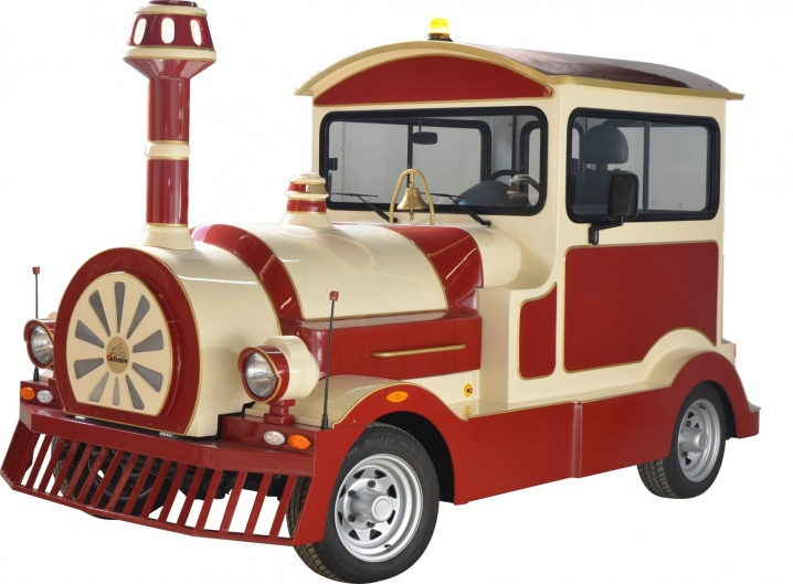 дизельный поезд, дизель, безрельсовый поезд, поезд аттракцион, поезд для парка